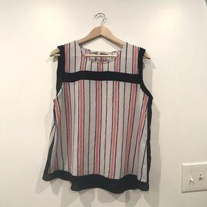 Creative Concepts Stripe Boxy Blouse